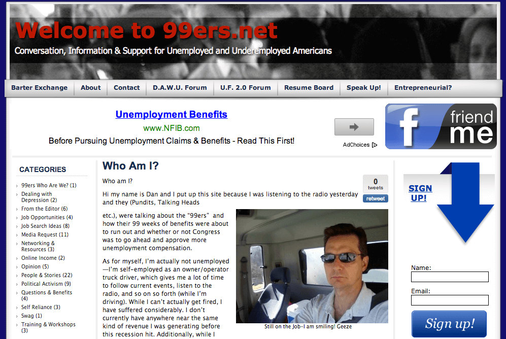 Unemployment - 99ers.net