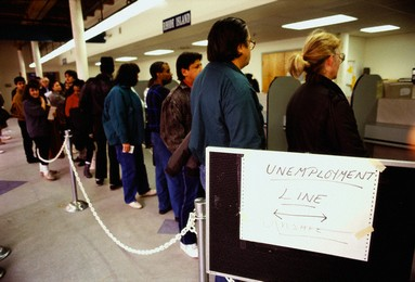 Image result for unemployment office
