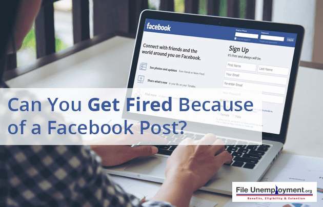 Can You Get Fired Because of a Facebook Post