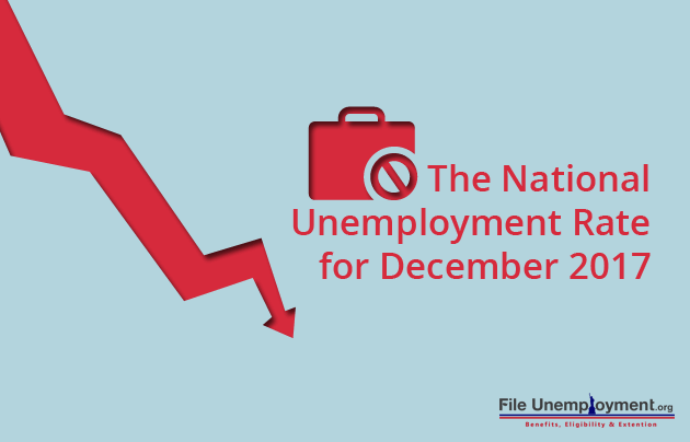 national unemployment since December 2017