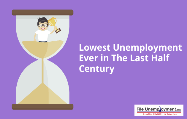 Lowest Unemployment Ever in the Last Half Century