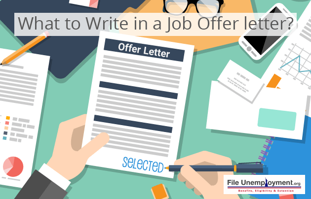 What to Write in a Job Offer letter?