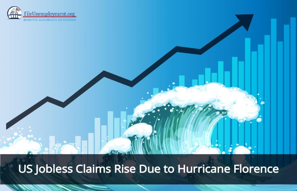 US Jobless Claims Rise Due to Hurricane Florence