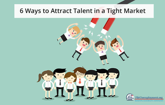 Attract talent in a tight market