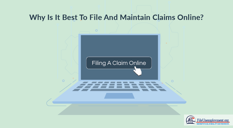 Why Is It Best to File and Maintain UI Benefits Online?