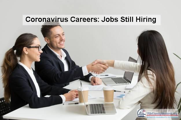coronavirus careers