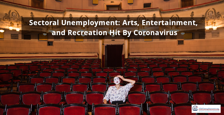 Sectoral Unemployment: Arts, Entertainment, and Recreation Hit By Coronavirus