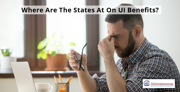 states with largest number of UI claims