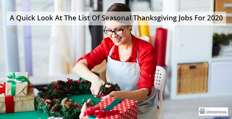A Quick Look At The List Of Seasonal Thanksgiving Jobs For 2020