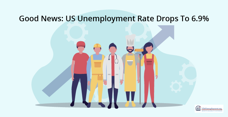 Good News: US Unemployment Rate Drops To 6.9%